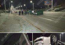 Авария. Фото Пресс-служба ГАИ МВД ПМР