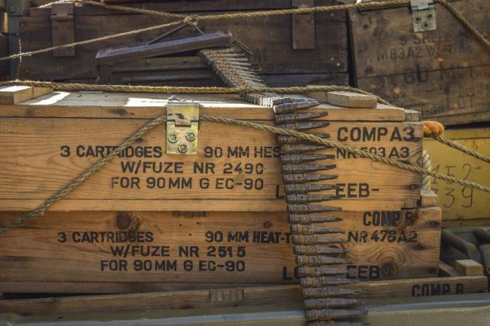 Ящики с боеприпасами. Фото: pixabay.com