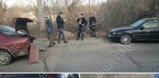 В Рыбнице столкнулись два автомобиля