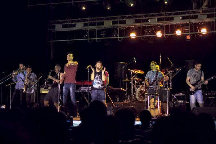 Музыканты «LAnЖERON» из Тирасполя. Фото: langeron-np.tilda.ws