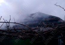 В селе Сарацея произошел пожар. Фото: mvdpmr.org