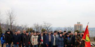 В Рыбнице почтили память воинов-интернационалистов