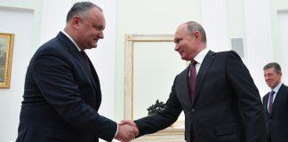 Президента России ждут с визитом в Молдове. Фото: Газета.ру