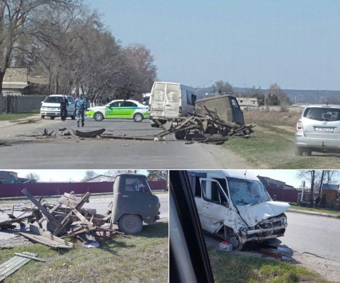 ДТП в Рыбнице: Mercedes врезался в УАЗ