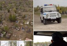 На кладбищах будут дежурить сотрудники милиции