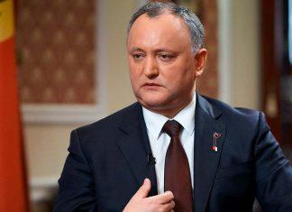 Игорь Додон Президент Молдовы Фото с сайта sm-news.ru