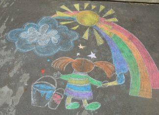 Ко Дню защиты детей в Рыбнице стартует конкурс детского рисунка на асфальте