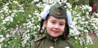 "Лия Узун -- участница конкурса ""Спасибо за Победу"""