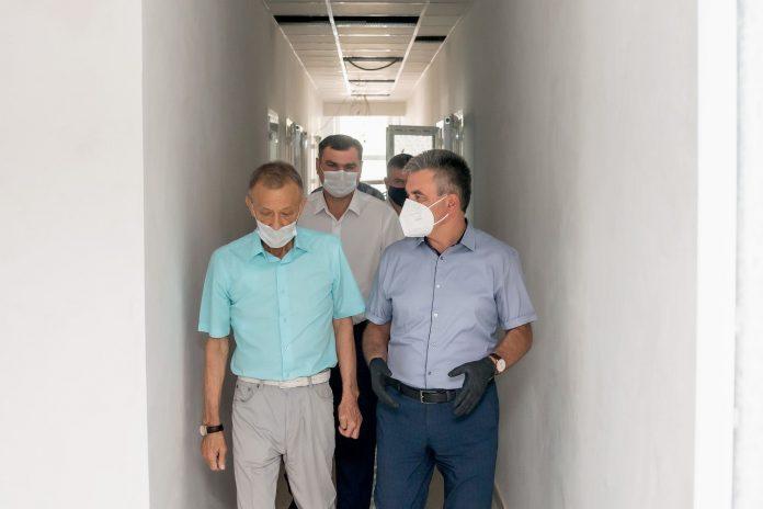Президент уделил повышенное внимание объектам сферы здравоохранения