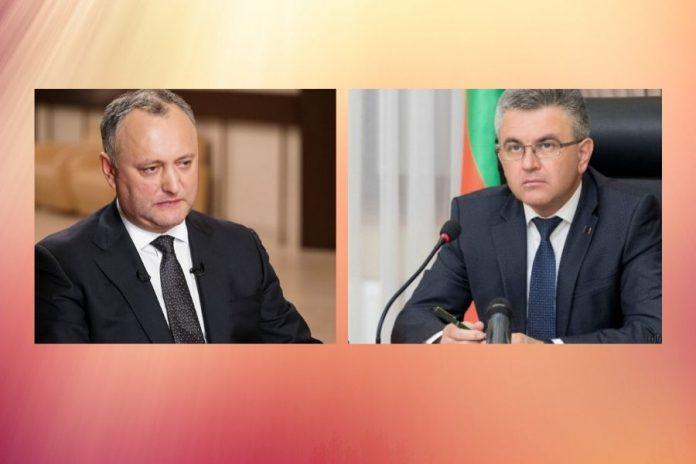 Вадим Красносельский и Игорь Додон обсудят актуальные вопросы молдо-приднестровских отношений