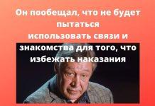 Вечером 8 июня Ефремов, находившийся в состоянии алкогольного опьянения, устроил аварию в центре Москвы.
