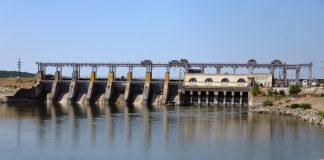 Уровень воды в реке Днестр