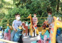 В Рыбнице заработали детские аттракционы