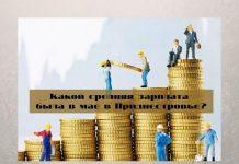 Какой средняя зарплата была в мае в Приднестровье