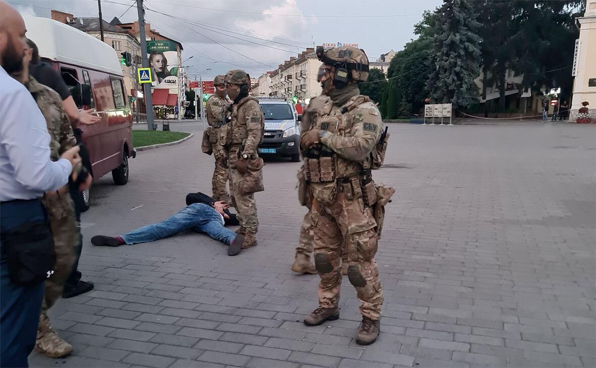 Фото: Арсен Аваков / Twitter Луцкий террорист задержан