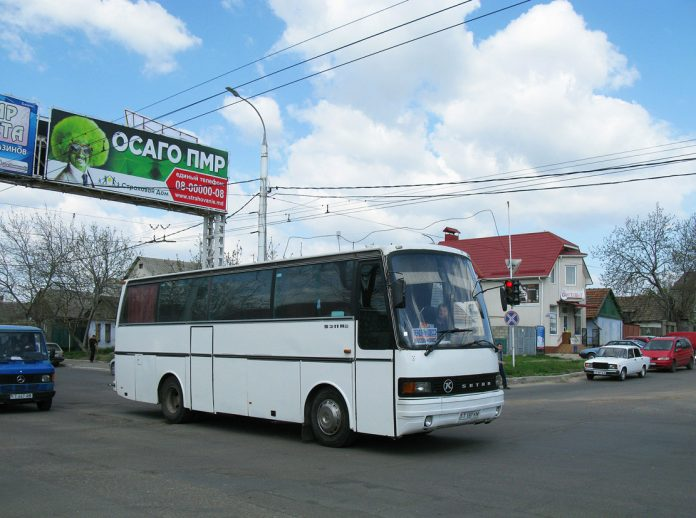 Автобус из Приднестровья в Москву и Санкт-Петербург