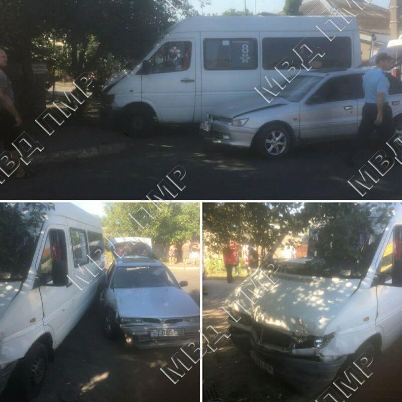 В ДТП пострадало 7 пассажиров маршрутного такси