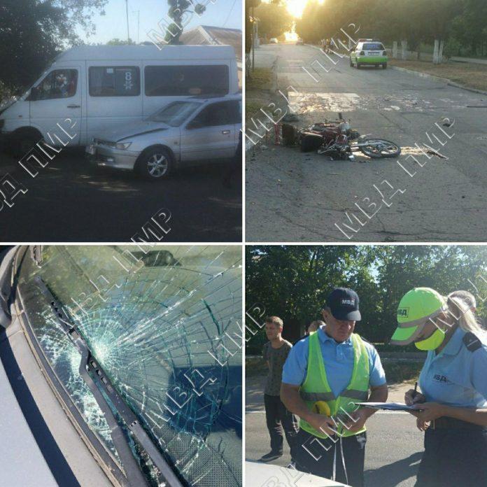 В Приднестровье произошла 51 авария