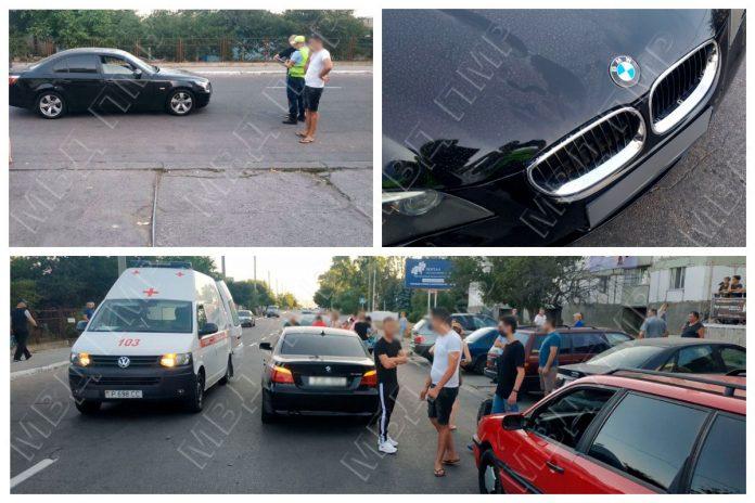 В Рыбнице водитель BMW совершил наезд на пешехода