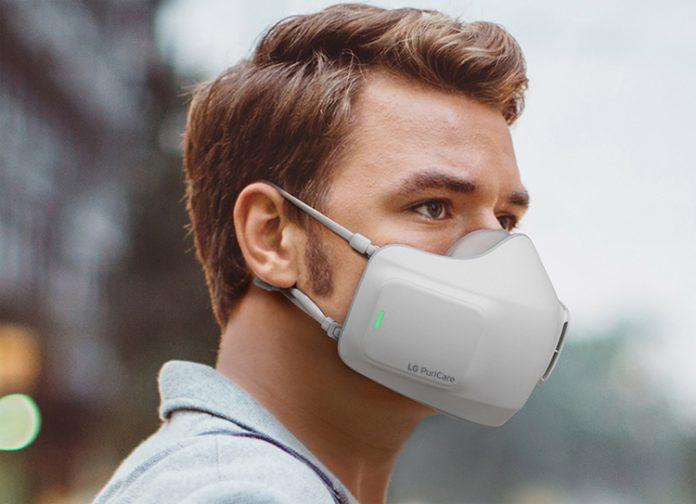 Маска-очиститель воздуха