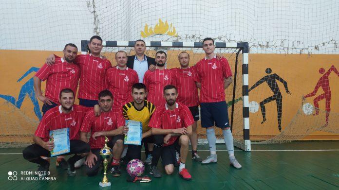 Победители чемпиона города и района по мини-футболу -- команда