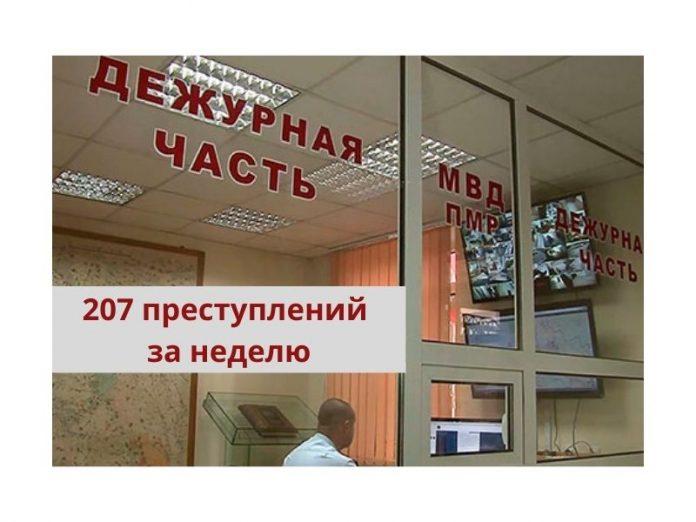 Криминогенная обстановка в Приднестровье