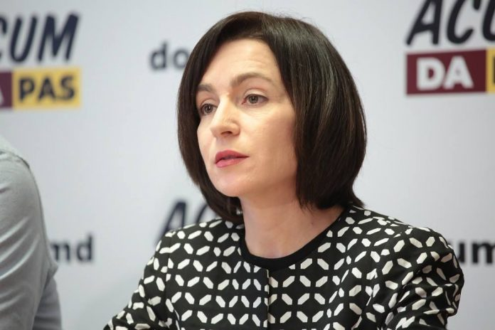 Майя Санду выступила за вывод российских миротворцев из Приднестровья