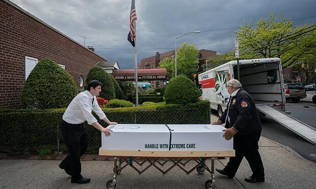 похороны от COVID-19
