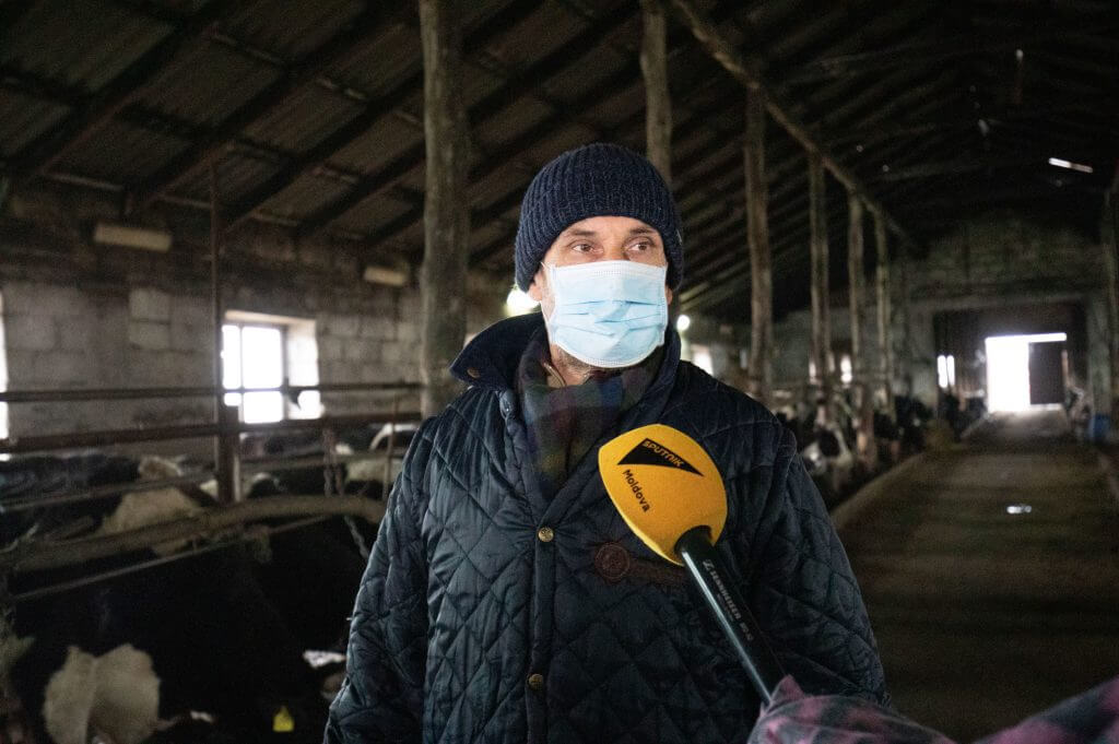 Фермер Валериу Шивчишин. Фото SPUTNIK _ MIHAI CARAUS