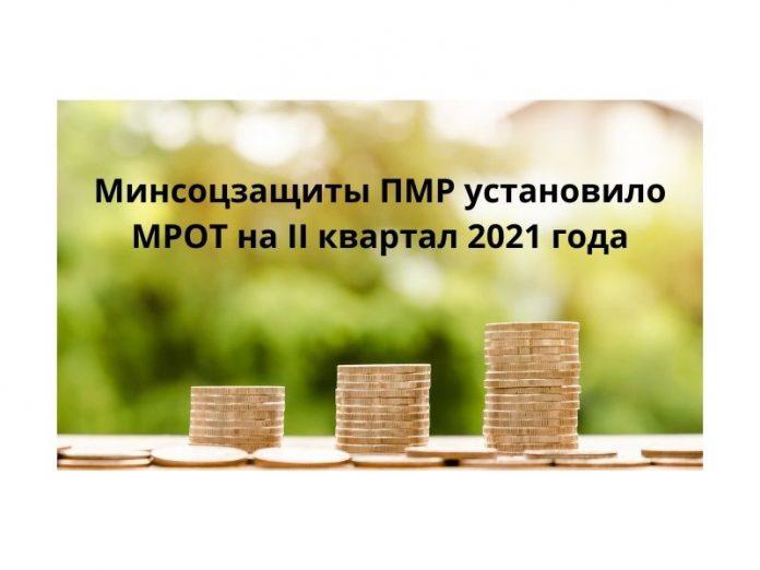 Минсоцзащиты ПМР установило минимальный размер оплаты труда на II квартал