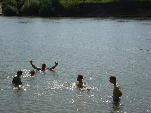 купальный сезон открыт