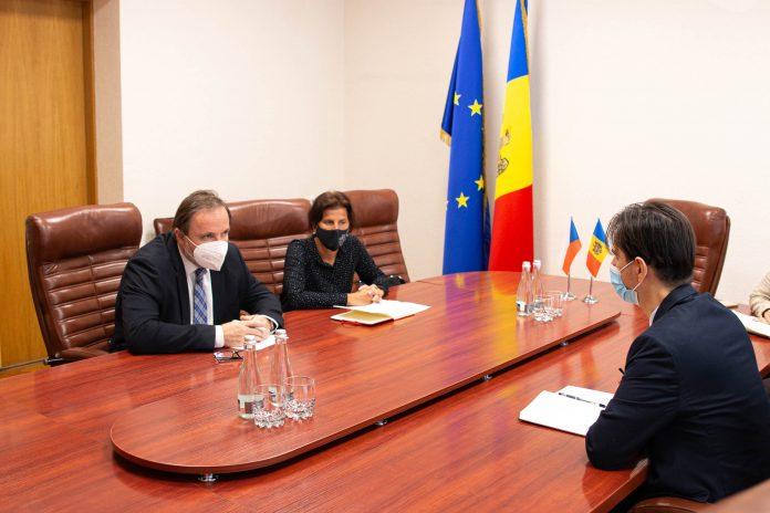 встреча министра экономики с послом чехии