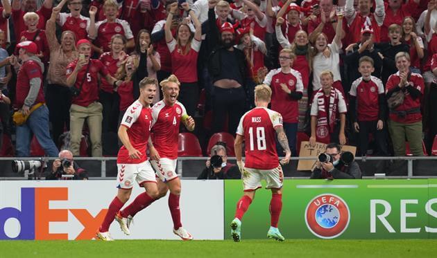 Сборная Дании выиграла